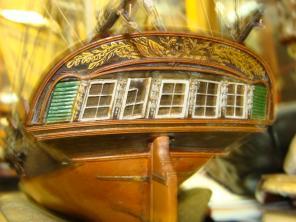 готовая модель яхты «Нева»