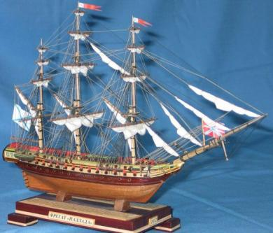 Авторская модель фрегата «Паллада»
