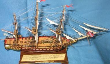 фрегат «Паллада» модель корабля ручной работы