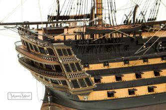 Модель корабля Великий Князь Константин. общий вид