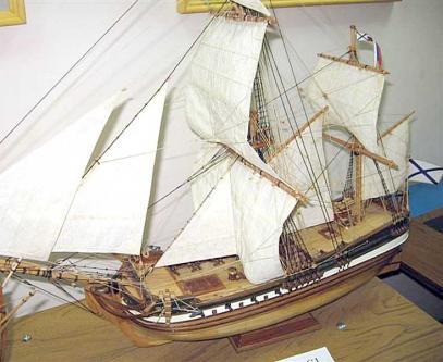 Модель гукора Двина ручной работы