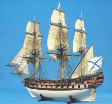 Авторская модель корабля Слава России