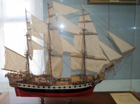 Авторская модель фрегата Святой Николай. общий вид