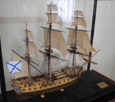 Модель фрегата Святой Николай ручной работы
