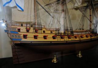 Коллекционная модель фрегата Святой Николай