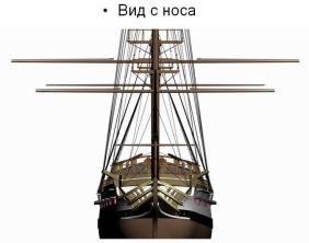 3d модель фрегата Святой Николай. 4