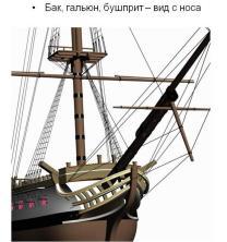 3d модель фрегата Святой Николай. 6