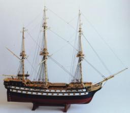 Авторская модель корабля Святой Павел