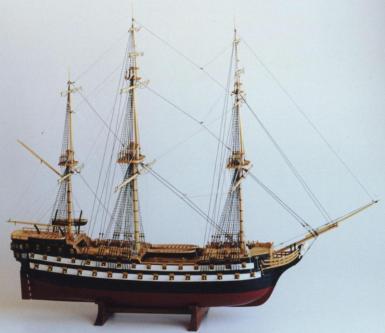 Авторская модель корабля Святой Павел.