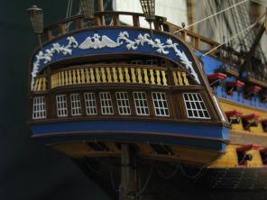 Модель корабля Святой Павел ручной работы