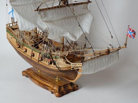 Модель пакетбота Святой Петр ручной работы