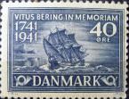 Марка пакетбот Святой Петр 1941 Дания