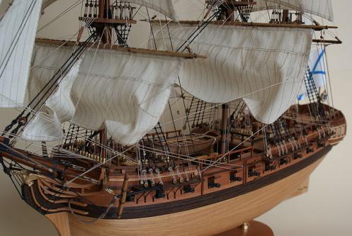 Модель фрегата Венус ручной работы