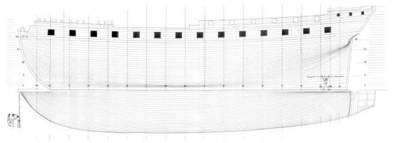 фрегат Венус. бок 10