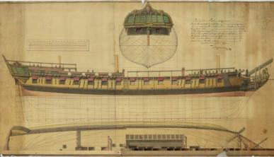 фрегат Венус. чертеж 18