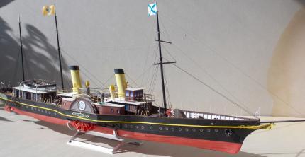Модель яхты Александрия
