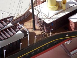 Авторская модель яхты Александрия 4