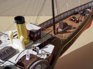Авторская модель яхты Александрия 6
