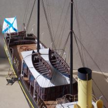Авторская модель яхты Александрия 7