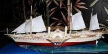 Модель яхты Держава