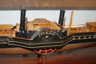Авторская модель яхты Держава
