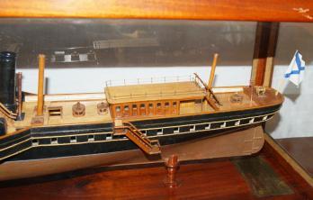 Авторская модель яхты Держава 4