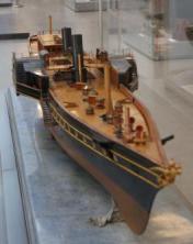 Авторская модель яхты Ливадия 1873  4 ЦВММ