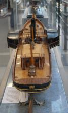 Авторская модель яхты Ливадия 1873 9 ЦВММ