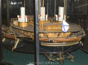 Авторская модель яхты Ливадия 4 ЦВММ