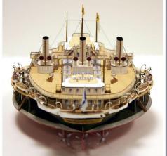 Авторская модель яхты Ливадия 6 ЦВММ