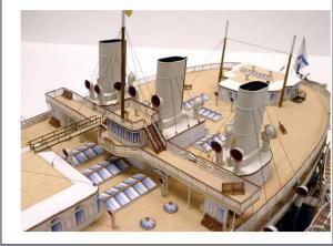 Авторская модель яхты Ливадия 7 ЦВММ