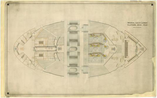 яхта Ливадия. чертеж 2