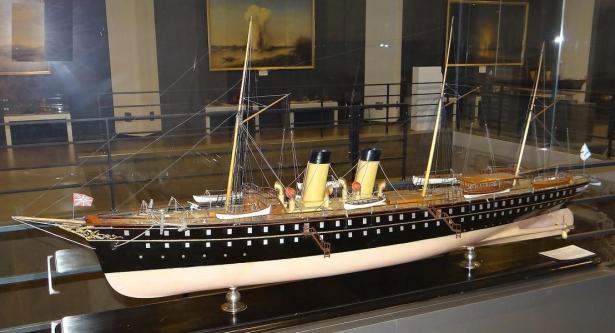 Авторская модель яхты Полярная звезда.  общий вид