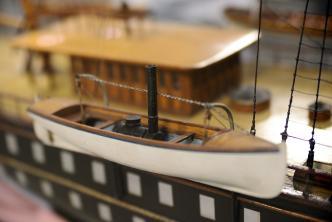 Авторская модель яхты Полярная звезда 4