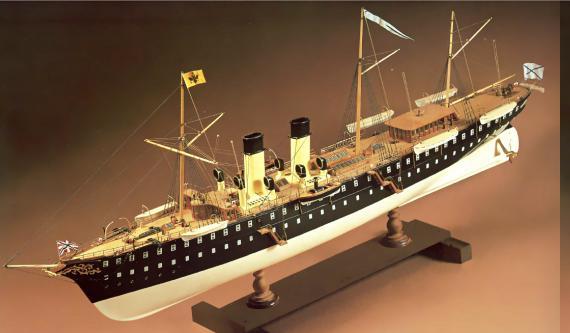 Авторская модель яхты Полярная звезда 6