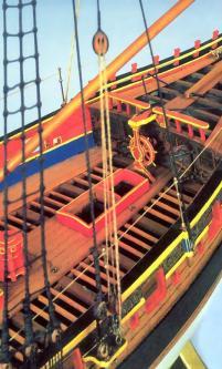 Авторская модель яхты Ройал Транспорт.  10