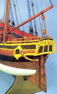 Авторская модель яхты RoyalTransprt.  11