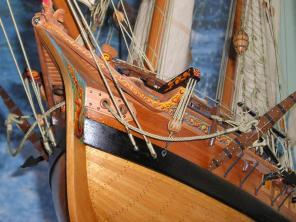 Авторская модель яхты RoyalTransprt