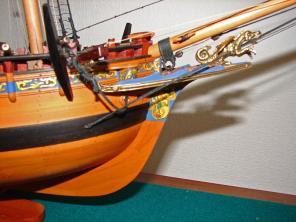 Авторская модель яхты Ройал Транспорт 4