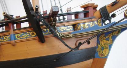 модель яхты RoyalTransprt ручной работы 5