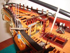 Авторская модель яхты Ройал Транспорт 6