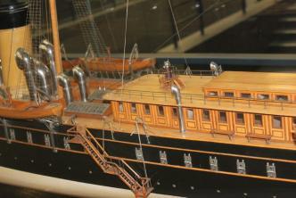 Авторская модель яхты Штандарт 5 ЦВММ