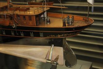 Авторская модель яхты Штандарт 6 ЦВММ
