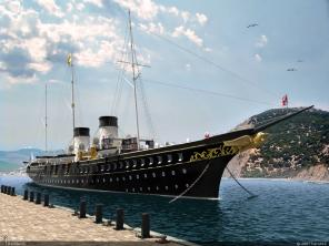 Авторская модель яхты Штандарт 7 ЦВММ