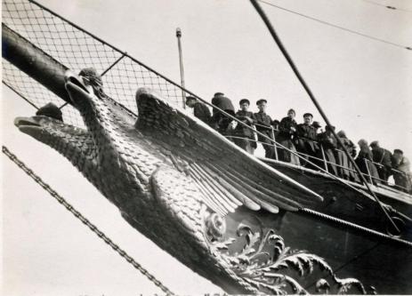 яхта Штандарт. Носовая фигура 2