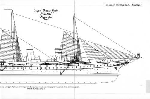 яхта Штандарт. чертеж 2