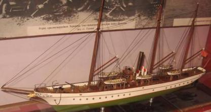 Модель яхты Тамара