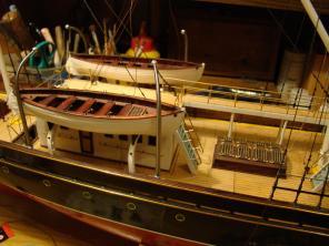 Авторская модель яхты Тамара