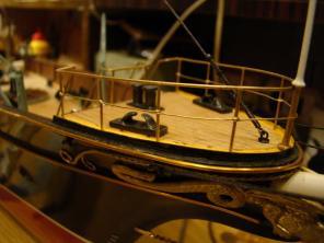 Авторская модель яхты Тамара 5