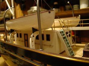 Авторская модель яхты Тамара 6